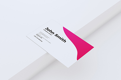 Simply Minimal Bussiness Card Mockup