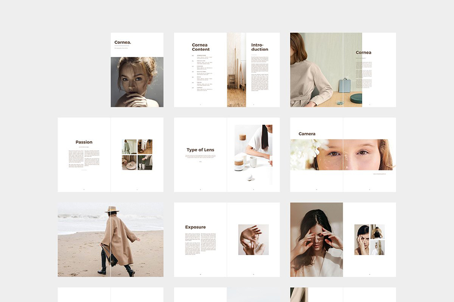 Cornea Photo Portfolio Template