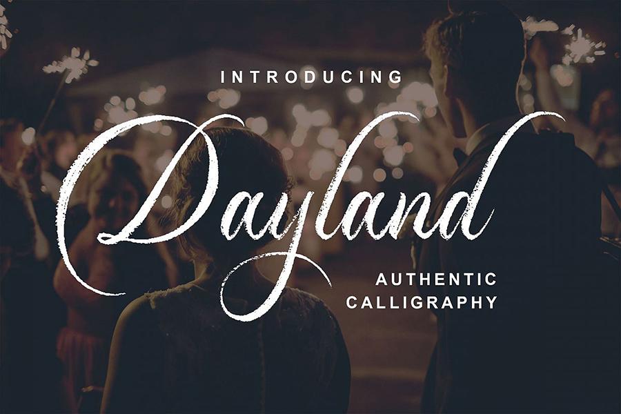 Dayland Script Free Demo
