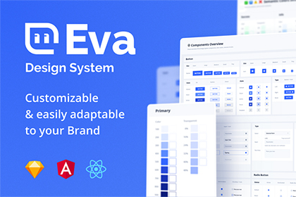 Eva Design System UI Kit