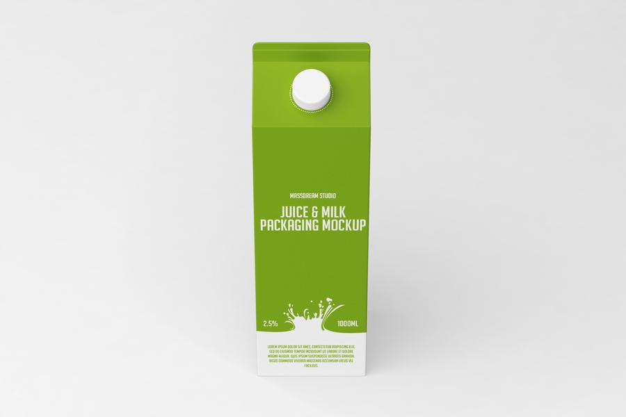 Juice Packaging Free Mockup