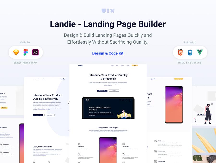 Landie Free Landing Page