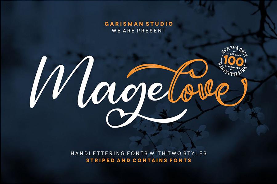 Magelove Handlettering Script