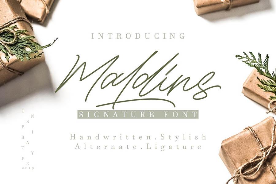 Maldins Signature Free Demo