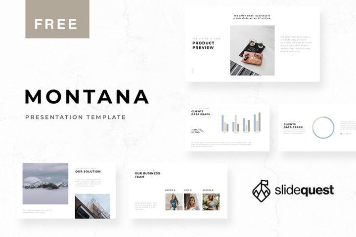 Montana Free Presentation Template