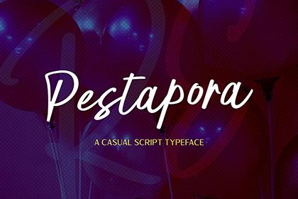 Pestapora Script Free Demo