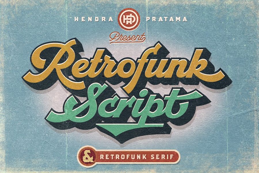 Retrofunk Script Free Demo
