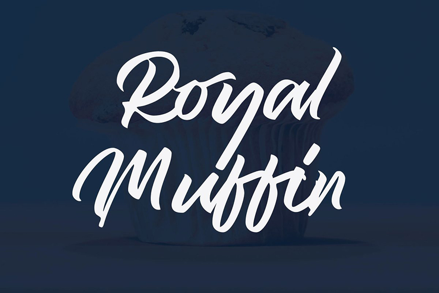 Royal Muffin Handlettering