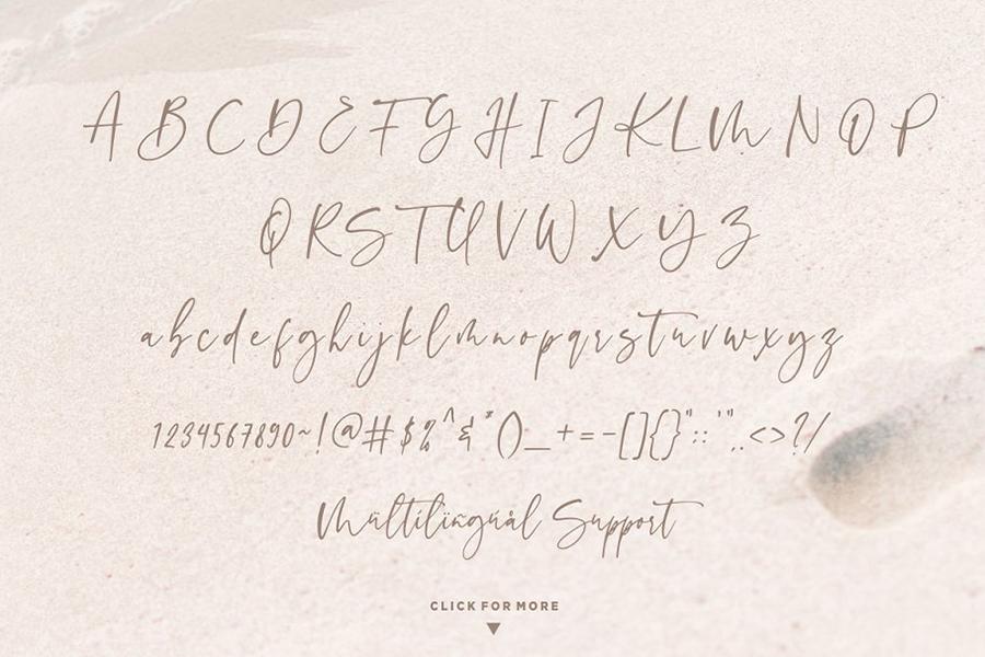 Sinthya Casual Script Demo
