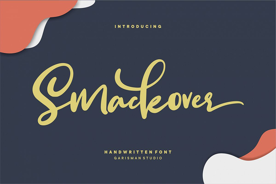 Smackover Handwritten Font Demo