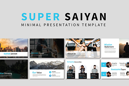 Super Saiyan Presentation Template