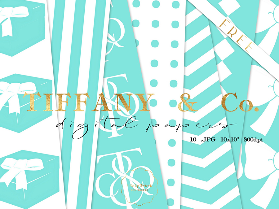 Tiffany Free Digital Papers