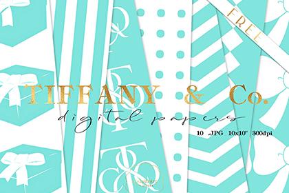 Tiffany Free Digital Papers