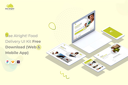 Free Stylish Restaurant UI Kit