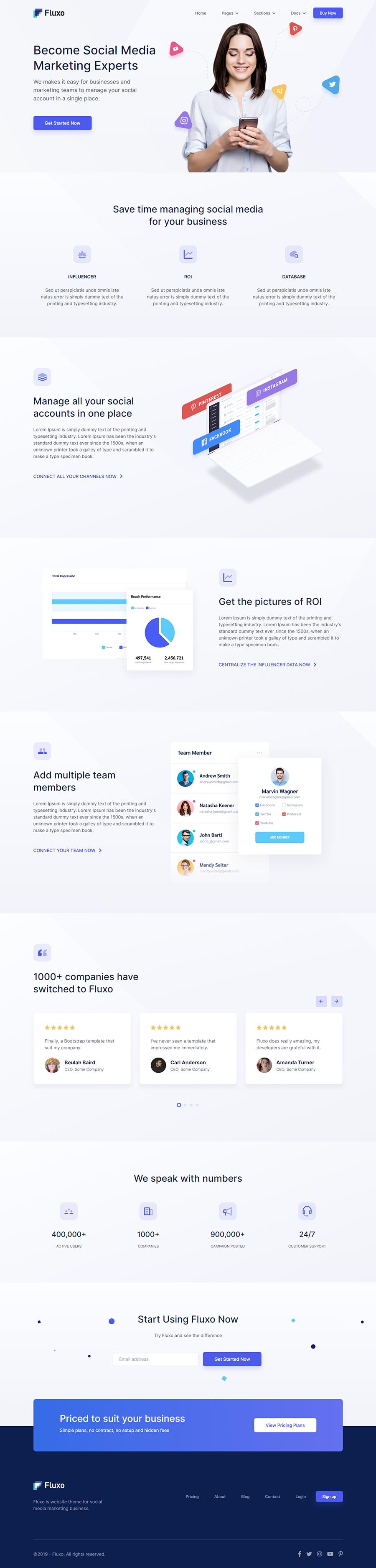 Fluxo – Social Media Marketing