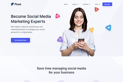 Fluxo - Social Media Marketing