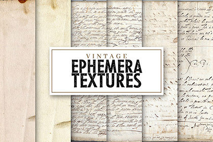Free Vintage Ephemera Papers 2