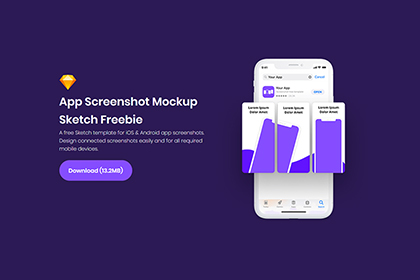 Free App Screenshot Mockup