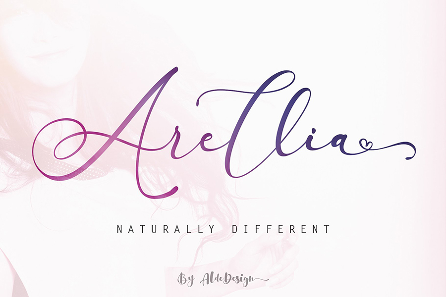Arellia Handlettering Script