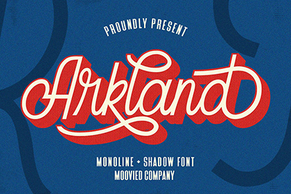 Arkland Monoline Script Demo