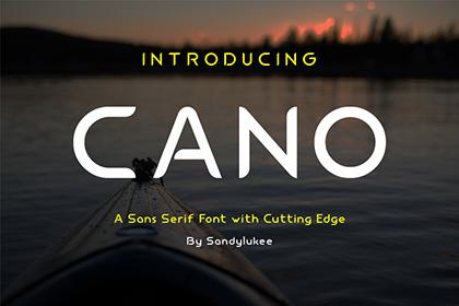 Cano Display Sans Serif