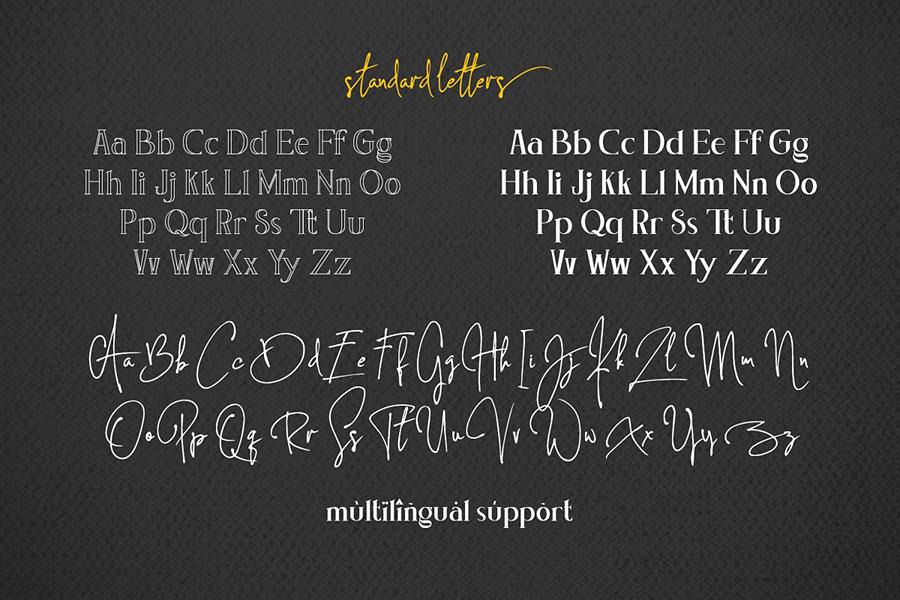 Concetta Kalvani Serif Font