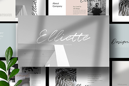 Elliette Presentation Template