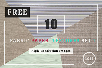 10 Free Fabric Paper Textures