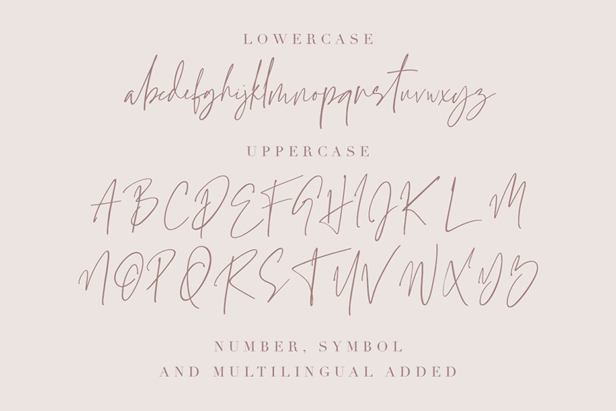 Grandiose Stylish Signature Font