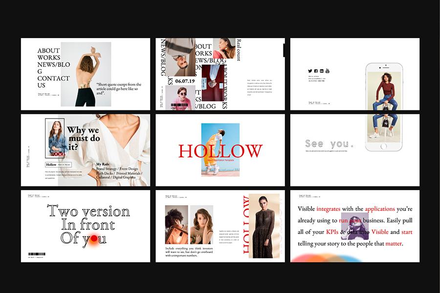Hollow Presentation Template