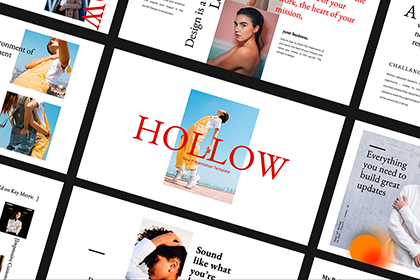Hollow Presentation Template