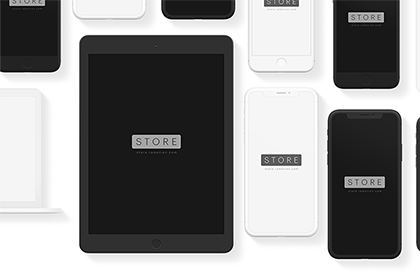 Free iPad Pro Clay Mockup