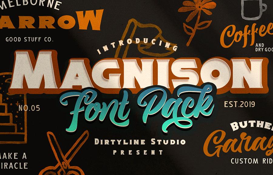Magnison Font Free Demo