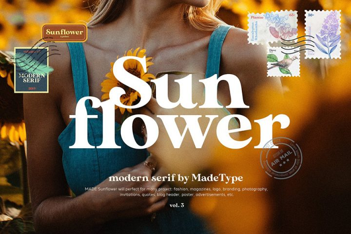 MADE Sunflower Serif Font