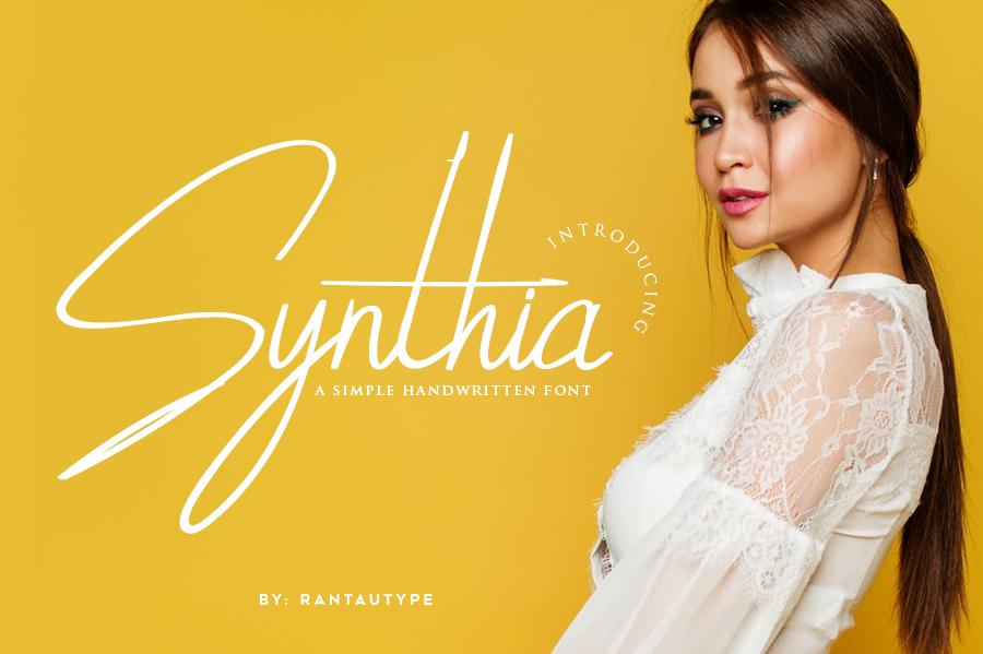 Synthia Handwritten Script Demo