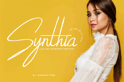 Synthia Handwritten Script Demo