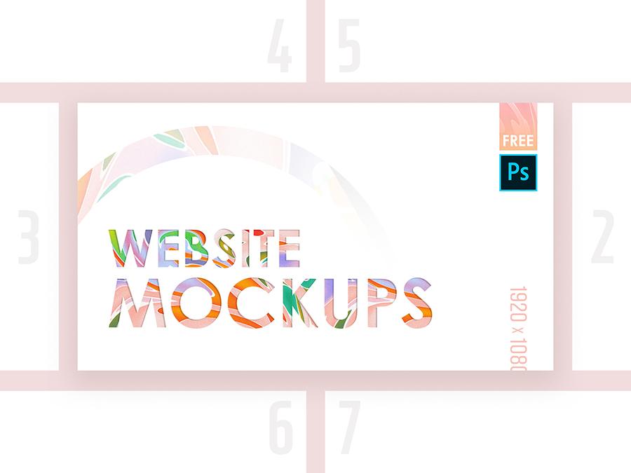 High-Quality Web Mockup Pack