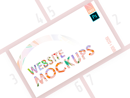 High-Quality Web Mockup Pack