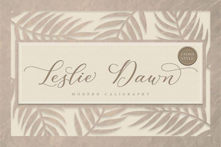 Leslie Dawn Modern Calligraphy