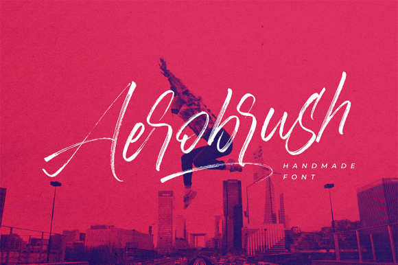 Aerobrush Handlettering Brush Script