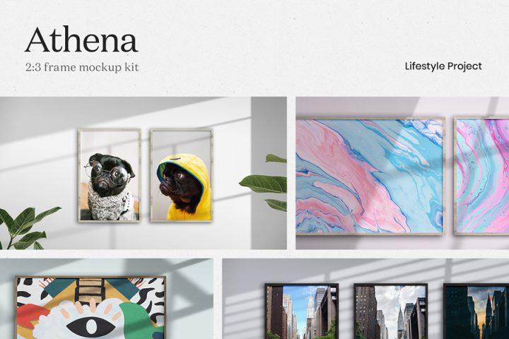 Athena - Frame Mockup Kit