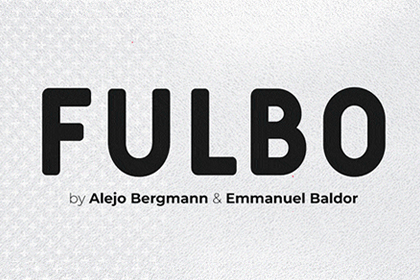 Fulbo Sporty Display Font