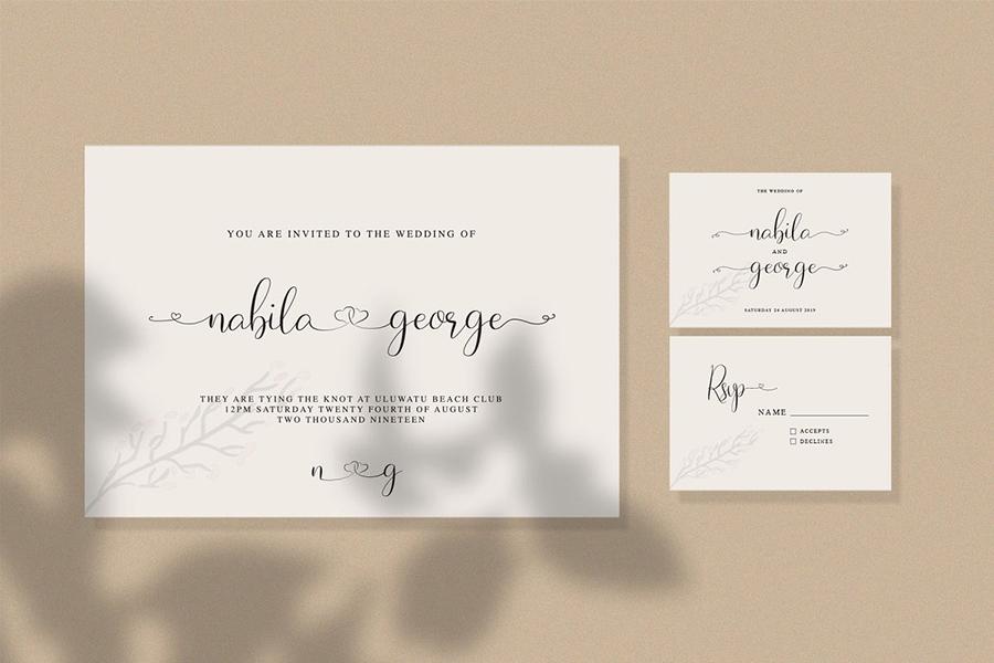 Naibacarte Handlettering Font