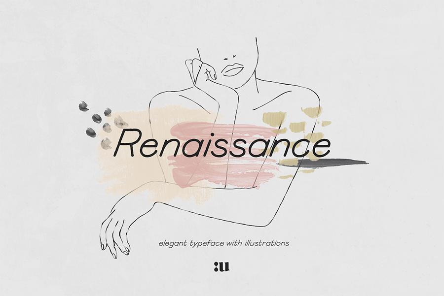 Renaissance Free Elegant Typeface