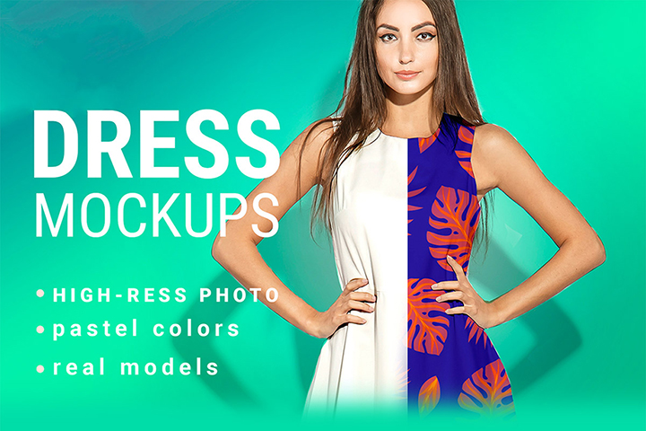 Dress Mockup Free PSD Demo