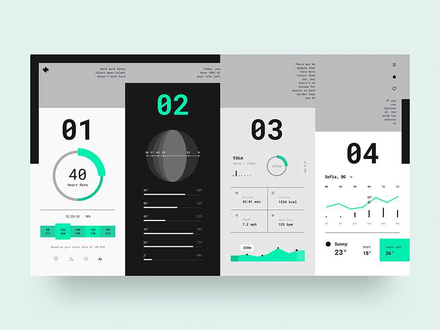 HeaderZ Free UI Kit Design