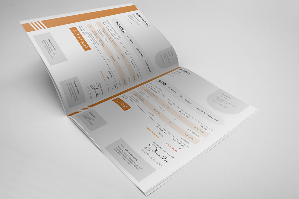 Invoice Template free download