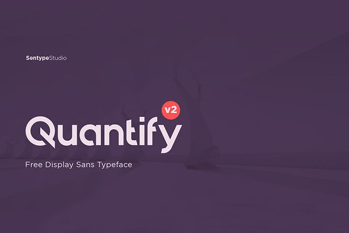 Quantify Sans V2 Free Typeface