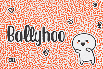 Ballyhoo Display Font Demo