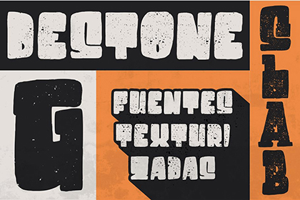 Destone Display Font Demo